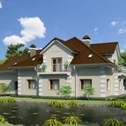 Проект жилого дома с мансардой фото
