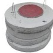 Плита Ж/Б для колодцев Ǿ1,4 м фото