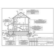 Проектирование, строительство деревянных каркаснощитовых домов. фото