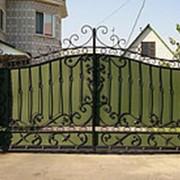 Ворота распашные РВ-8 фото