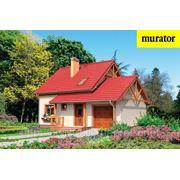 Проект будинку котеджа з мансардою Муратор Ц89. Площа 136,9 кв. м. фото