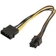 Переходник питания видеокарты PCI-Express 6-контактный на 1 Molex штекер Orient С511 фото