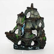 """Грот Meijing YM """"Затонувший корабль"""" (27*11*28) (YM-860) фото"""