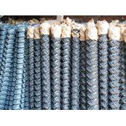 Сетка рабица оцинкованная 65х65, высота 1.5. -120 грн. фото