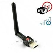 Микро WIFI 150Mb 802.11n адаптер + антенна фото