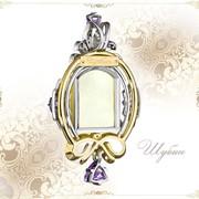 Изготовление украшений из драгоценных металлов и камней на заказ фото