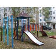 Площадка детская игровая. Изготовление детских игровых площадок. детские игровые площадки. фото