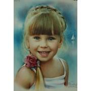 Нарисовать портрет по фотографии Киев Харьков Сумы фото