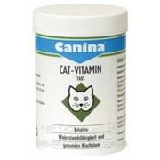 Витаминный комплекс Canina Cat-Vitamin Tabs 100 таб фото