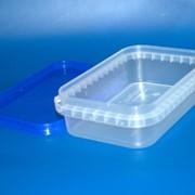 Судок пластиковый прямоугольный 200 мл фото