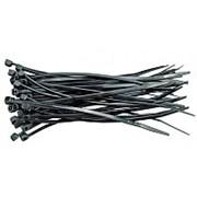 Хомут пластиковый ЭВРИКА черный 4.0x370мм универсальный 25 штук фото