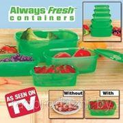 Олвейс Фреш - контейнеры для хранения продуктов (5 штук) фото