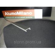 Швеллер анодированный, П-образный 5*12*5*1,5 мм фото