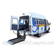 Переоборудование для перевозки инвалидов, победы на конкурсе. фото