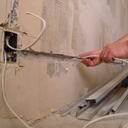 Монтаж скрытой проводки в жилых и общественных зданиях фото