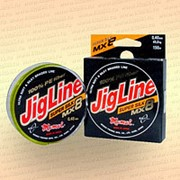 Плетенка JigLine MX8 Super Silk 100 м, зелён., 0,30 мм тест 26 кг фото