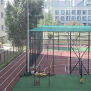 Строительство футбольного поля фото