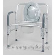 Кресло-туалет для полных людей, разборный фото