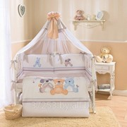 Комплект в кроватку детского постельного белья Три друга, Венеция Перина, 7 предметов фото