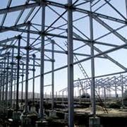 Монтаж строительных металлоконструкций фото
