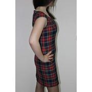 Школьное платье-сарафан фото