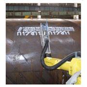 Маркировка этикетками и бирками, матричная маркировка краской, маркировка металла до 1000 С, егментная маркировка металлизированным спреем фото