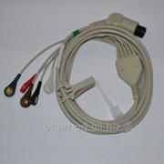 Кабель ЭКГ 3-х канальный фото