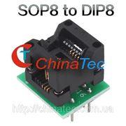 SO8 SOP8 гнездо переходник к программатору DIP8 EZ 150 Mile фото