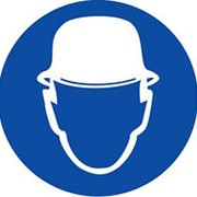 M02 Работать в защитной каске (шлеме) фото
