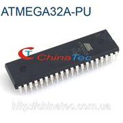 Микроконтроллер ATMEGA32A-PU 8-разрядный 40 Pin фото