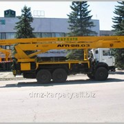 Автовышка АГП-28.03. фото