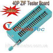 Универсальная панель ZIF 40 для корпусов ZIF ZIP DIP IC фото