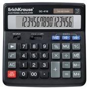 Калькулятор «Erich Krause DC-416» 16 разр. фото