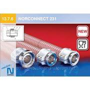 Универсальная соединительная муфта для внешне гофрированных спиральных шлангов NORCONNECT 231 фото