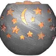 Соляная лампа Звездное небо 5кг фото