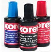 Штемпельная краска «Kores» 27мл. фото