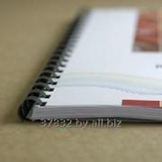 Переплет ( брошюровка ) документов на пластиковую пружину фото