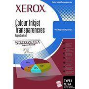 Пленка Xerox A4 Universal Inkjet Transparency rem.stripe 100л (003R98198) фото