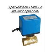 Трехходовой клапан с электроприводом фото