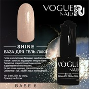 Vogue Nails, Shine база для гель-лака Base 6 10мл фото