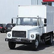 Фургон каркасный изотермический ГАЗ 3309 (Газон), 4х2 фото