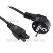Сетевой шнур (кабель питания) 3-х контактный (3-pin) для блоков питания ноутбуков фото