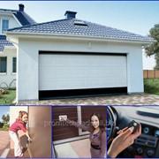 Автоматические Ворота гаражные фото