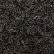 Гранит Сорт Blue Pearl Green (Норвегия) стоки фото