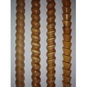 Токарно-винтовая витая декоративная рейка с разнообразными профилями . фото