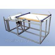 Установка для резки полипропиленовой ткани (полипропиленового рукава) фото