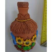 Бутылка Украинская Хатка фото