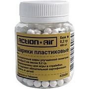 Шарики пластиковые 6 мм Action Air 0,2 гр (400 шт) фото