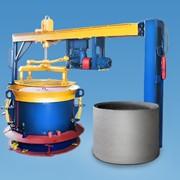 Вибропресс для бетонных колец диаметром 0,8 м, 1,0м, 1,5 м, 2,0 м фото