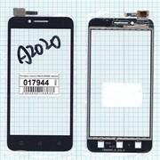 Сенсорное стекло (тачскрин) для Lenovo Vibe C (A2020) черное, Диагональ 5 фото